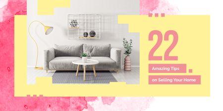 Modèle de visuel Cozy modern interior  - Image