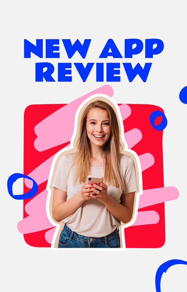 Blogger reviewing new App IGTV Cover – шаблон для дизайну