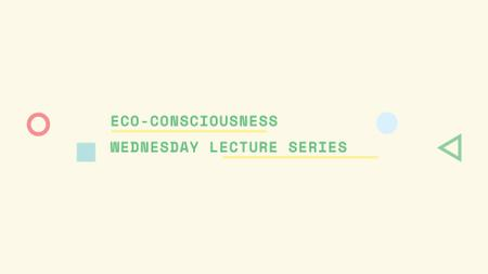 Plantilla de diseño de Eco-consciousness concept with simple icons FB event cover