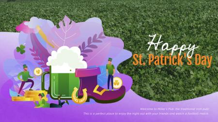 Ontwerpsjabloon van Full HD video van Saint Patrick's Celebration Attributes