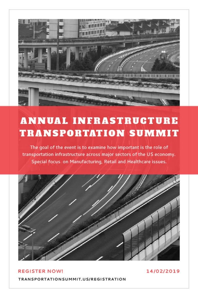 Annual infrastructure transportation summit — Create a Design