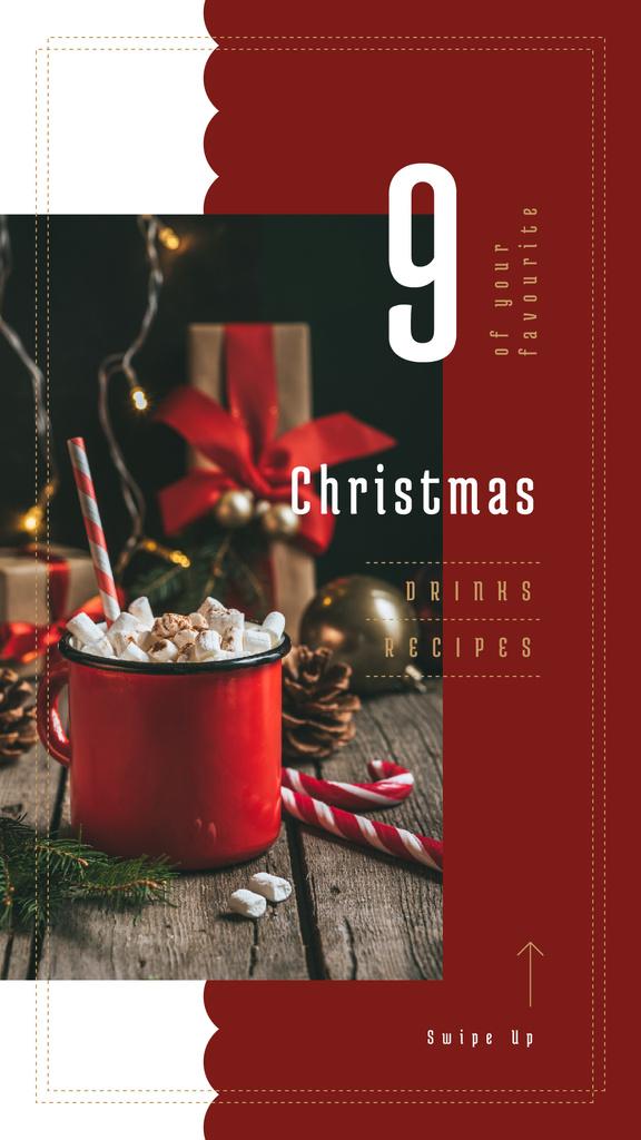 Hot Christmas cocoa — Create a Design