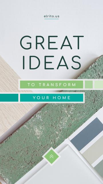 Plantilla de diseño de Home renovation concept Instagram Story