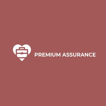 Assurance Business Ad Briefcase in Heart