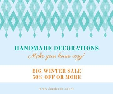 Handmade decorations sale