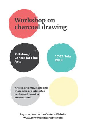 Plantilla de diseño de Pittsburgh Center for Fine Arts Pinterest