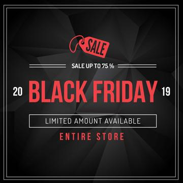 Black Friday sale advertisement