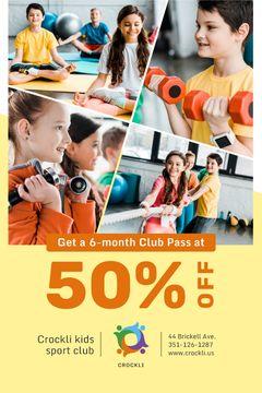 Kids Sports Club Offer Children Training