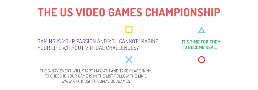 Video Games Championship announcement — Crear un diseño