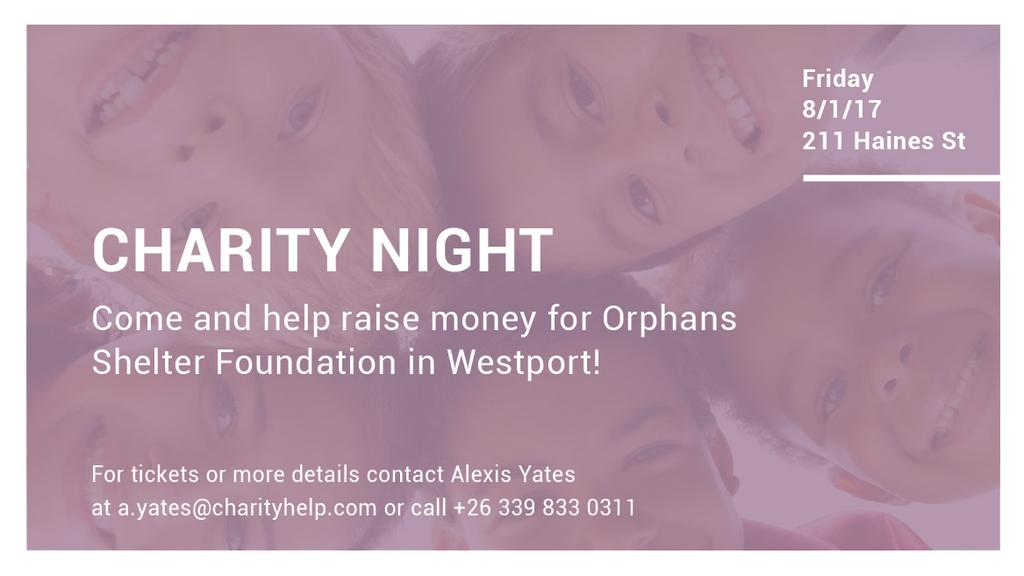Corporate Charity Night — Создать дизайн