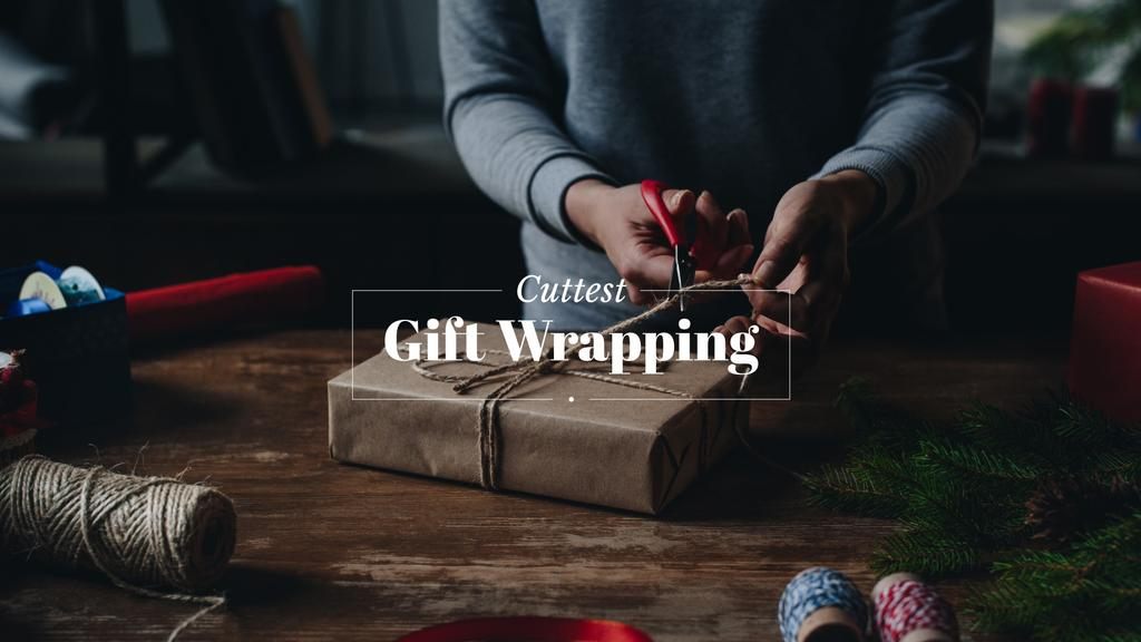 Cuttest gift wrapping — Crea un design