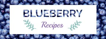 Raw ripe Blueberries recipes