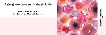 Template di design Dating Auction in Wabash Cafe Twitter