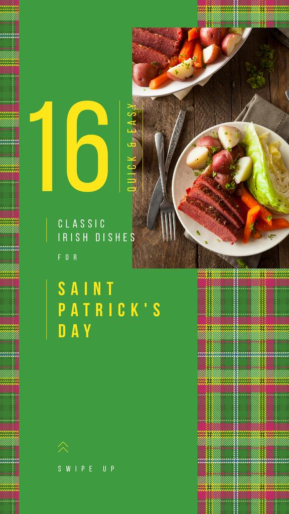 Saint Patrick's Day dinner — Create a Design