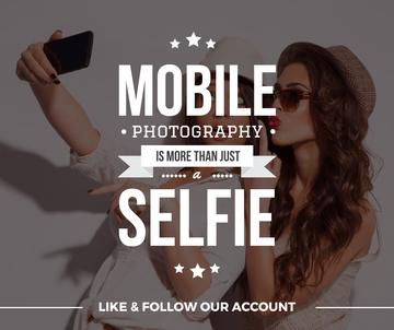 Mobile photography blog with Girls Taking Selfie