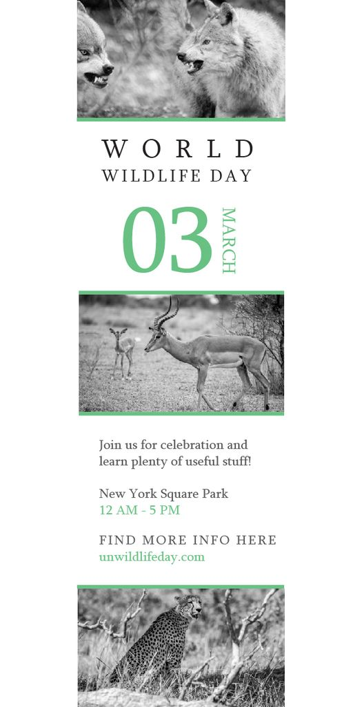 World wildlife day — Create a Design
