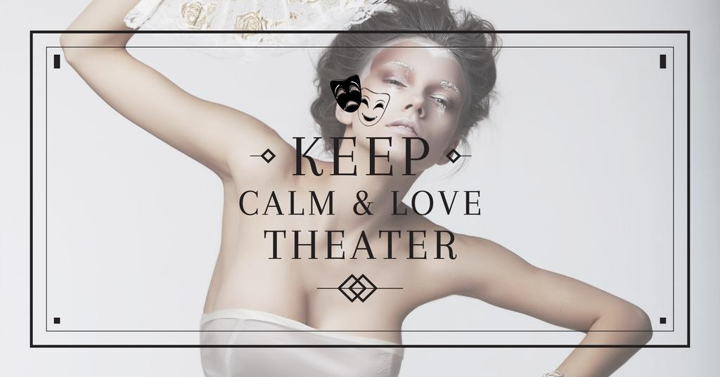 Citation about love to theater — Create a Design