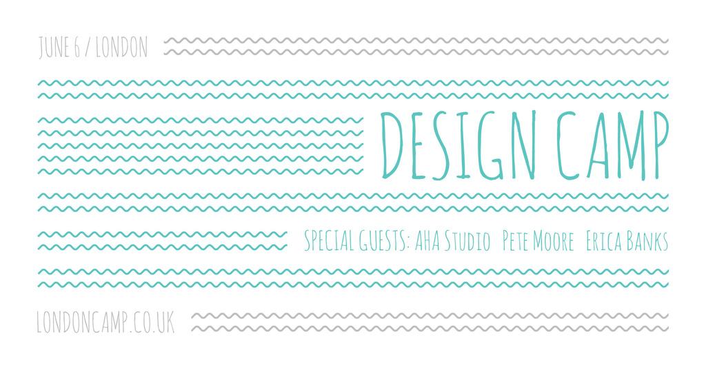 Design camp in London — Create a Design