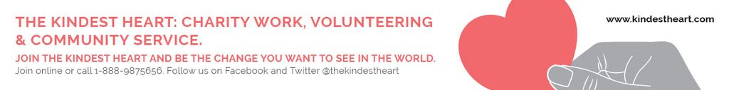The Kindest Heart: Charity Work — Create a Design