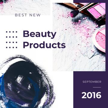 Makeup Cosmetics Set in Pink
