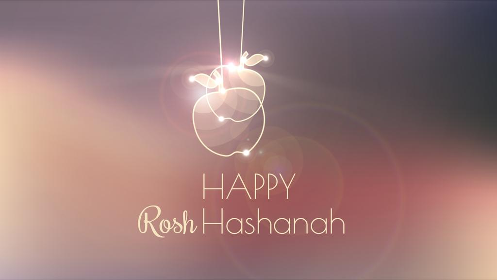 Rosh Hashanah garland with apples — Create a Design