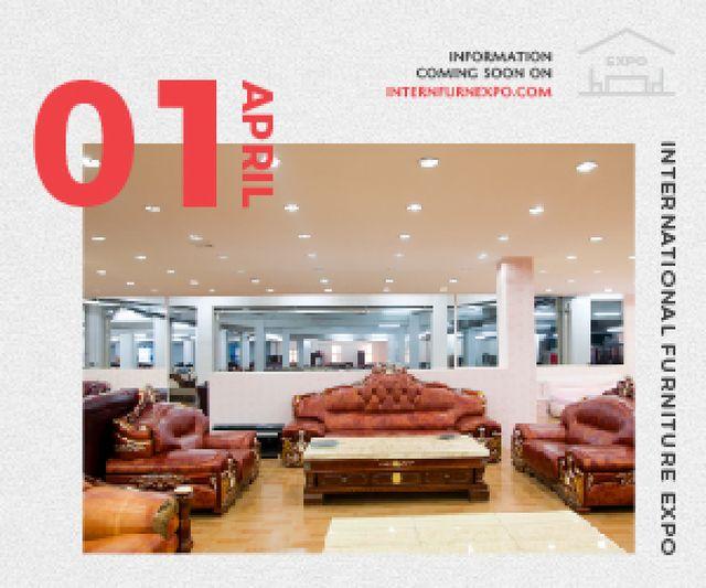 International Furniture Expo Medium Rectangle Design Template