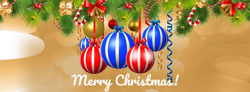 Spinning Christmas baubles — Créer un visuel
