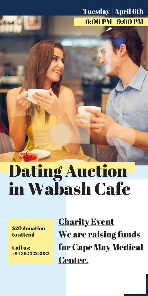 Dating Auction in Wabash Cafe — Создать дизайн