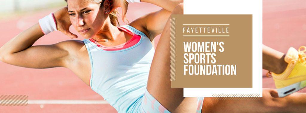 Womens sports foundation Ad — Crear un diseño