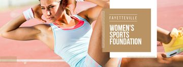 Womens sports foundation Ad