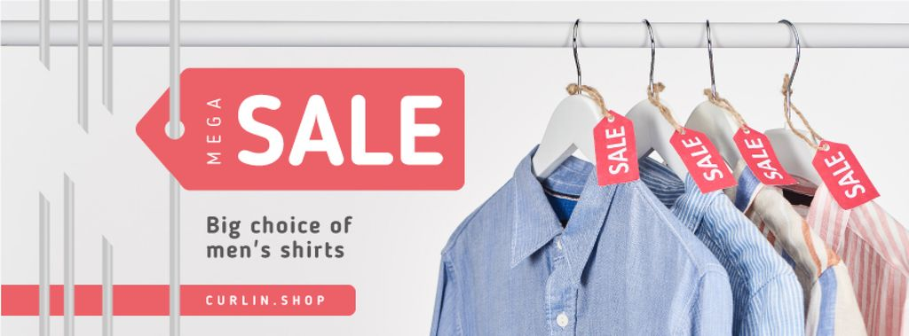 Clothes Sale Shirts on Hangers — Create a Design