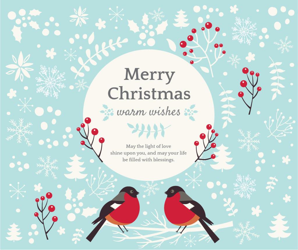 Merry Christmas card — Crea un design