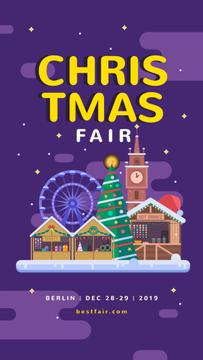 Fair in Christmas town
