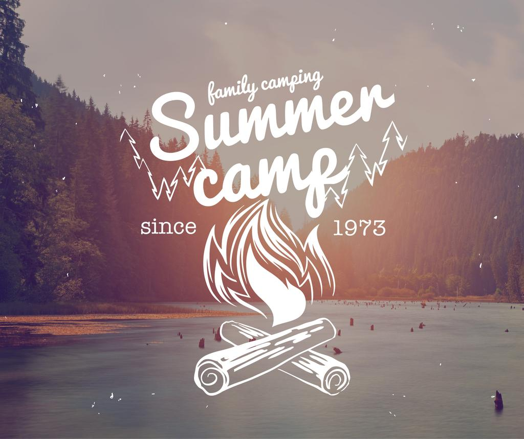 Summer camp logo — Створити дизайн