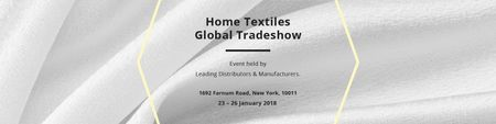 Home textiles global tradeshow Twitter Modelo de Design