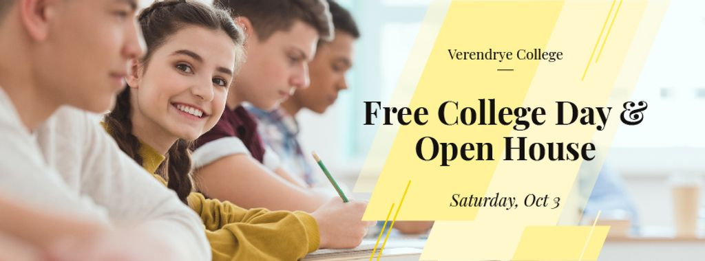 Free day and open house in Verendrye college — Créer un visuel