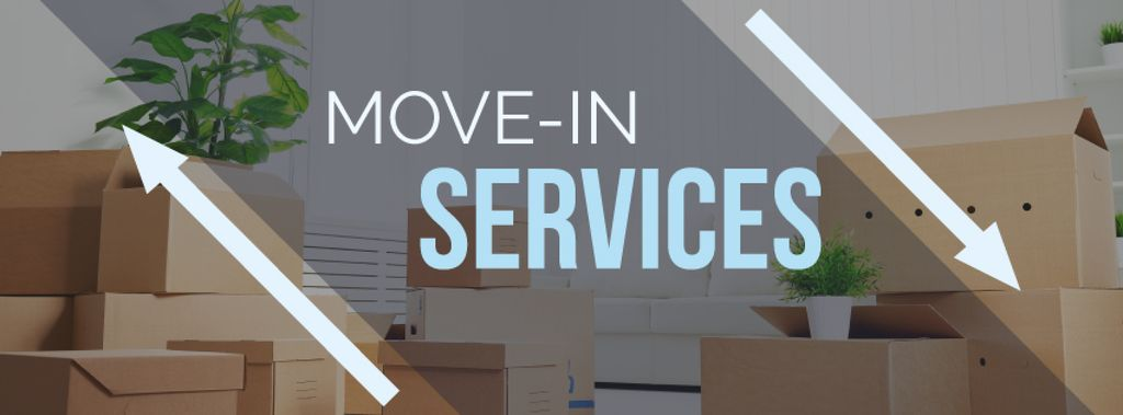 move-in services poster — Создать дизайн
