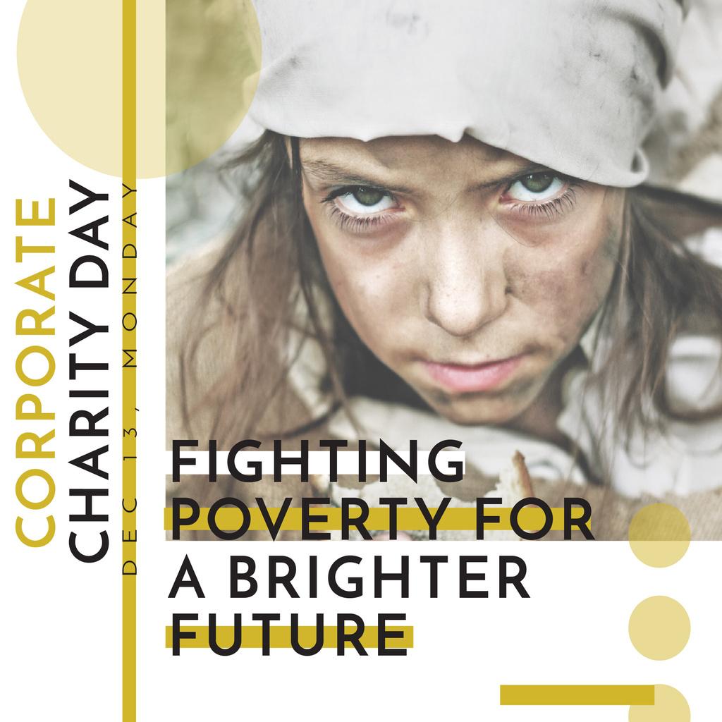 Corporate Charity Day — Créer un visuel