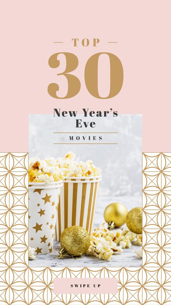 Christmas baubles with popcorn — Створити дизайн
