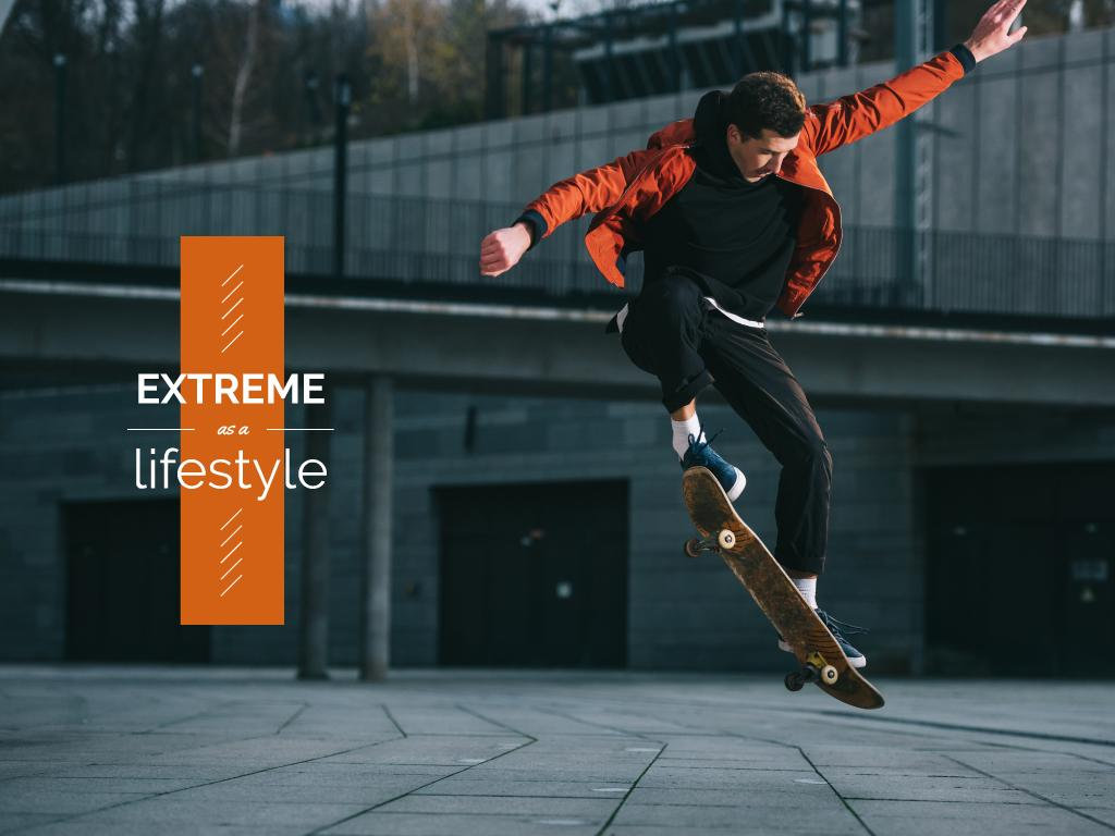 Extreme as a lifestyle poster — Create a Design
