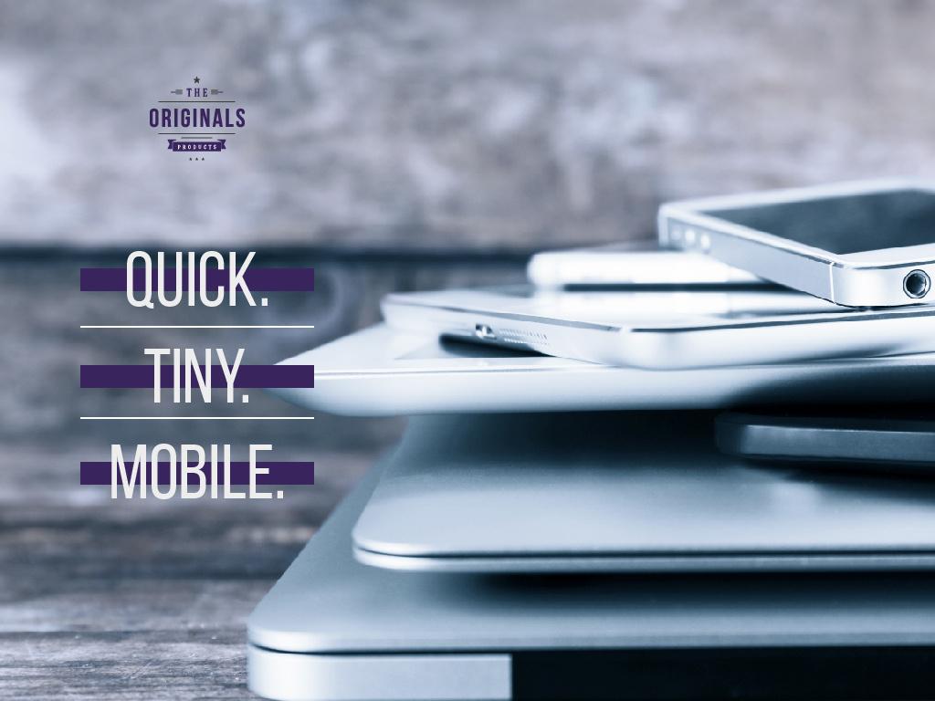 Mobile phone poster — Maak een ontwerp