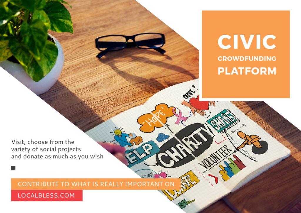 Civic Crowdfunding Platform — Создать дизайн