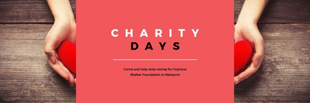Charity Days Annoucement — Створити дизайн