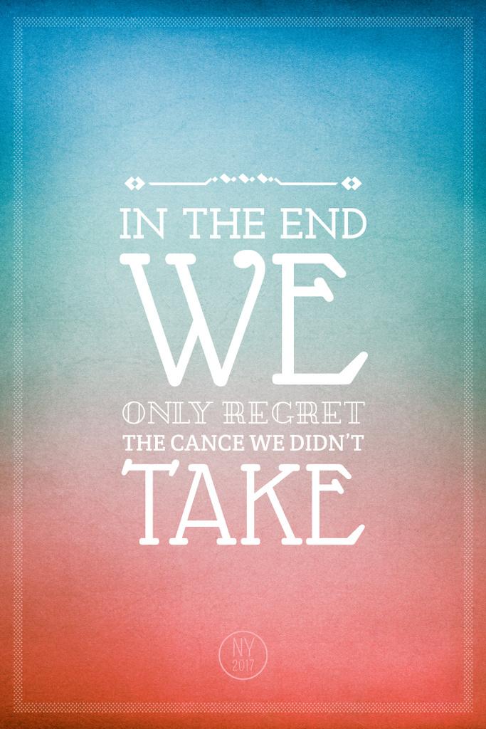 Motivational quote on colorful background — Modelo de projeto
