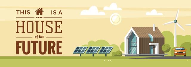 Szablon projektu Smart Home Futuristic Technologies Tumblr