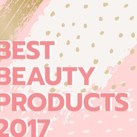 Designvorlage Beauty products guide in pink für Instagram AD