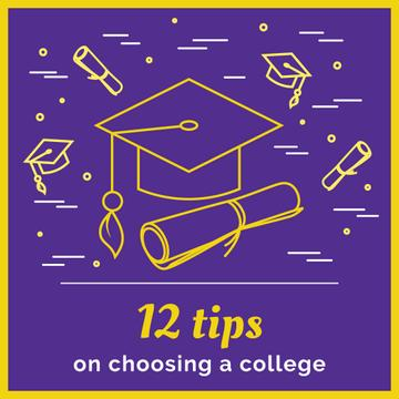 Choosing college tips on Purple