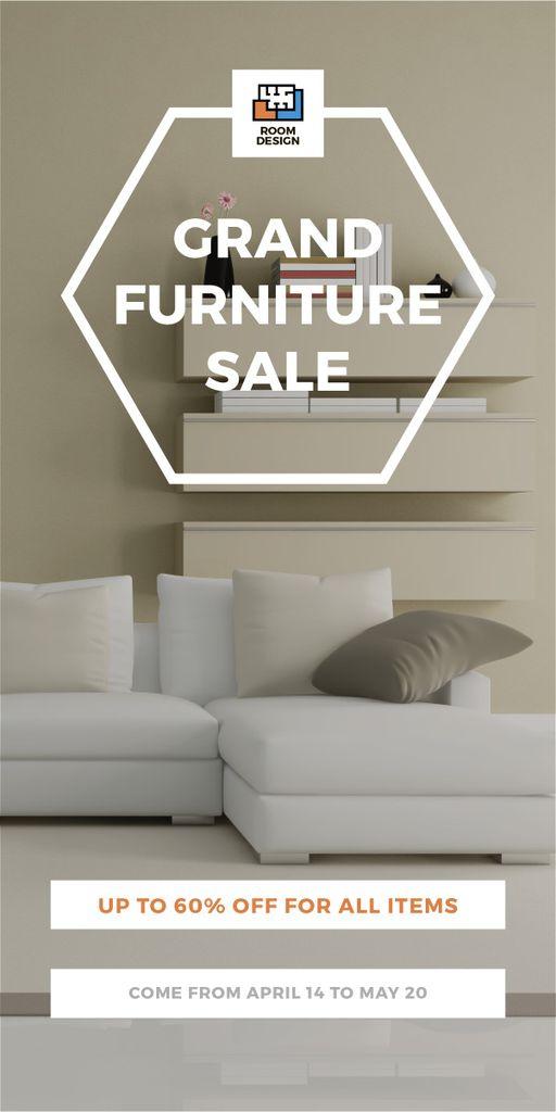 Grand furniture sale poster — Maak een ontwerp