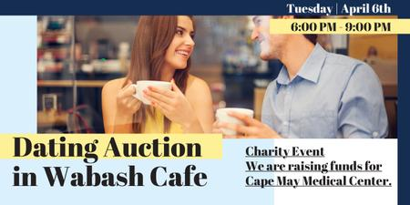 Dating Auction in Wabash Cafe Image Modelo de Design