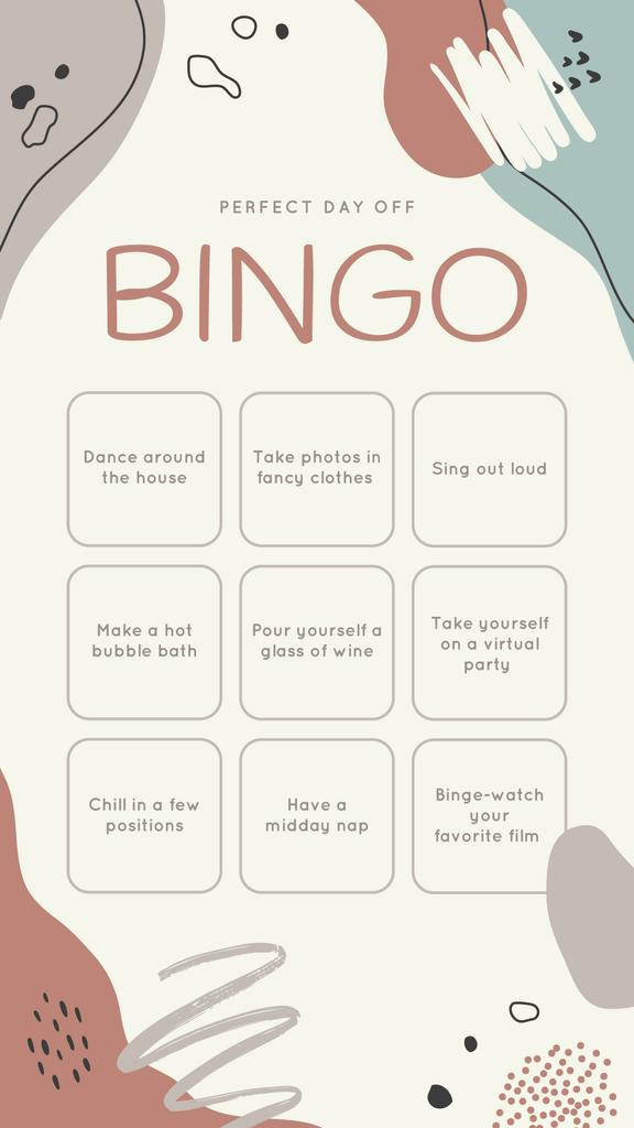 Bingo list for Perfect Day —デザインを作成する